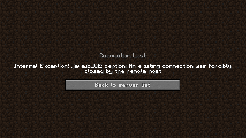 minecraft outdated client